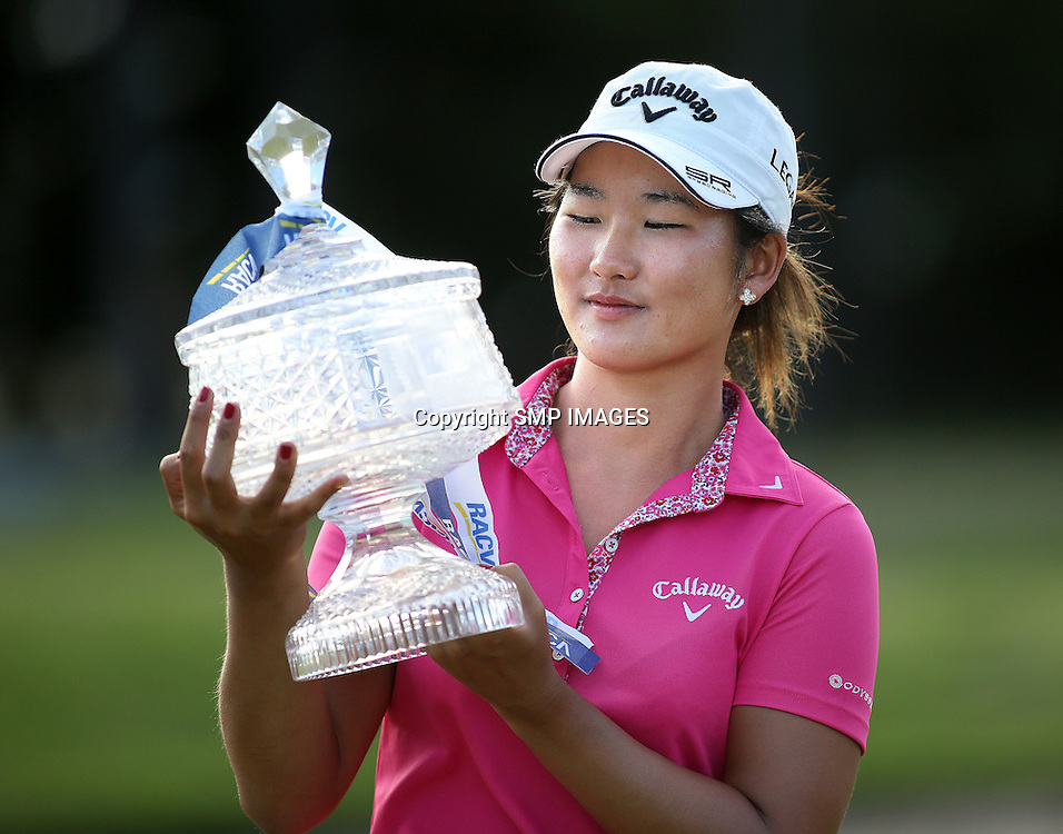 SU-HYUN OH (KOR) - PHOTO : WENDY VAN DEN AKKER SMP IMAGES / ALPGA MEDIA - Action from the the 2015 RACV Australian Ladies Masters being held at Royal Pines Resort on Queenslands Gold Coast. This image is for Editorial Use only. No further image use or third party sales are allowed with out the written consent of the Mananger SMP IMages and or the CEO of the LPGA Tour. Photo: WENDY VAN DEN AKKER SMP Images / LPGA Media