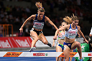 Ophelie Claude-Boxberger (FRA) competes in 3000m Steeplechase Women during the European Championships 2018, at Olympic Stadium in Berlin, Germany, Day 6, on August 12, 2018 - Photo Julien Crosnier / KMSP / ProSportsImages / DPPI