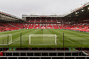 General view of the Stretford End at Old Trafford during the EFL Cup match between Manchester United and Burton Albion at Old Trafford, Manchester, England on 19 September 2017. Photo by Richard Holmes.