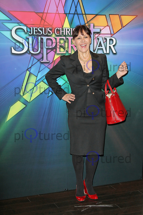 LONDON - SEPTEMBER 21: Arlene Phillips attended the Launch Night of 'Jesus Christ Superstar' at the O2 Arena, Greenwich, London, UK. September 21, 2012. (Photo by Richard Goldschmidt)