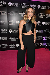 Singer MEL C at the annual PINKTOBER Gala presented by Hard Rock Heals at The Dorchester, Park Lane, London on 14th October 2016.  The annual event raises money for The Caron Keating Foundation.