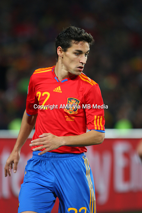 Jesus Navas of Spain