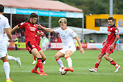Luton Town Midfielder Cameron McGeehan during the EFL Sky Bet League 2 match between Crawley Town and Luton Town at the Checkatrade.com Stadium, Crawley, England on 17 September 2016. Photo by Phil Duncan.