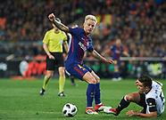 Valencia v Barcelona - 08 February 2018