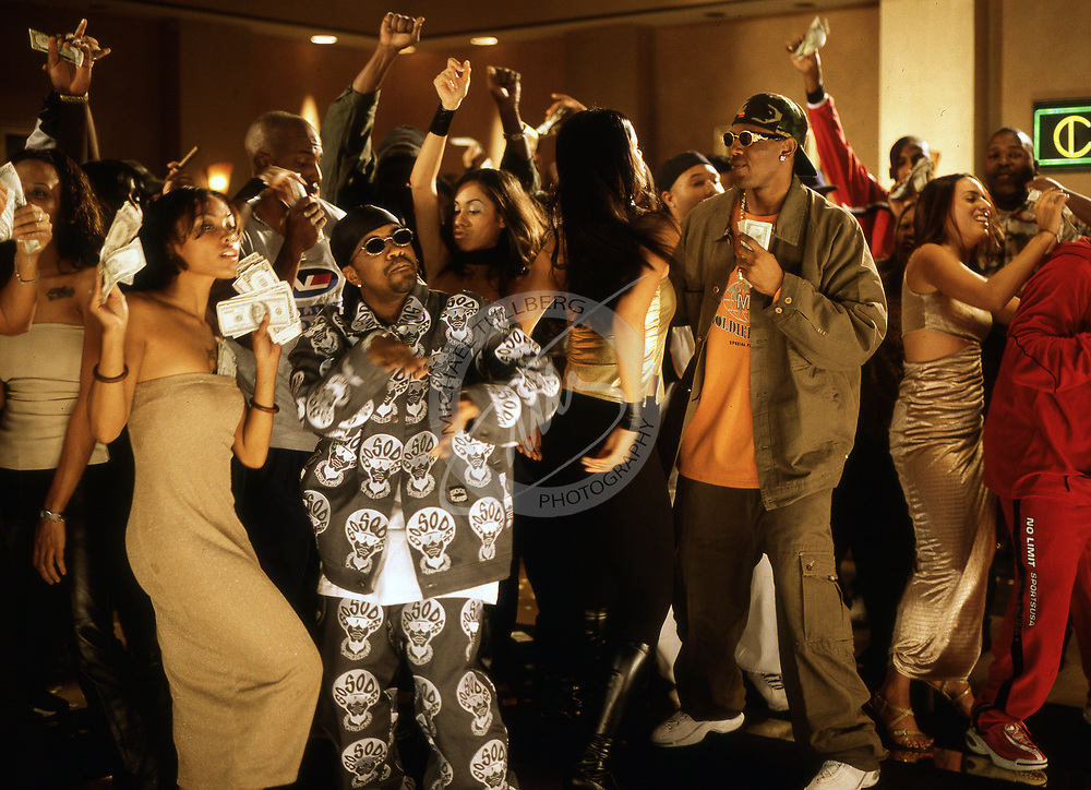 "During a video shoot for Master P and Jermaine Dupri's ""Da Ballers""."