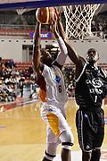 DESCRIZIONE : Roma Lega A 2014-15 Acea Roma Granarolo Bologna<br /> GIOCATORE : Melvin Ejim Okaro White<br /> CATEGORIA : a terra curiosità curiosita<br /> SQUADRA : Acea Roma<br /> EVENTO : Campionato Lega A 2014-2015<br /> GARA : Acea Roma Granarolo Bologna<br /> DATA : 04/01/2015<br /> SPORT : Pallacanestro <br /> AUTORE : Agenzia Ciamillo-Castoria/GiulioCiamillo<br /> Galleria : Lega Basket A 2014-2015<br /> Fotonotizia : Roma Lega A 2014-15 Acea Roma Granarolo Bologna