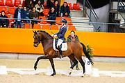Saskia van Es - Kentucky<br /> KNHS Indoorkampioenschappen 2020<br /> © DigiShots
