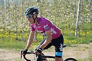 39° Giro del Trentino Melinda, 4° tappa Malè Cles, Richard Julian Porte, soprannominato Richie,vince il 39° Giro del Trentino Melinda,© foto Daniele Mosna 24 Aprile 2015 © foto Daniele Mosna