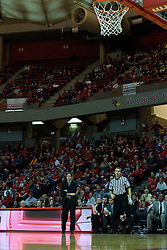 18 February 2012:  Tim Jankovich during an ESPN Bracketbuster mens basketball game Where the Oakland Golden Grizzlies lost to the Illinois State Redbirds 79-75 in Redbird Arena, Normal IL