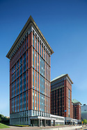 Queen Towers in Amsterdam by architect Carel Weeber / de Architekten Cie. In use by Mazars and UWV, Delflandlaan 1. Flow Real Estate