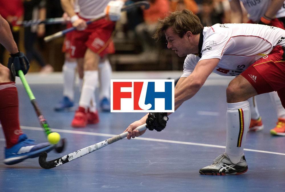 BERLIN - Indoor Hockey World Cup<br /> Austria - Belgium<br /> foto: Ton Boonen<br /> WORLDSPORTPICS COPYRIGHT FRANK UIJLENBROEK