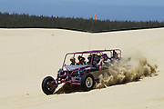 Dune buggy ride with Sandland Adventures at Oregon Dunes National Recreation Area on the Oregon Coast..