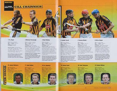 All Ireland Senior Hurling Championship Final, .07092008AISHCF,.07.09.2008, 09.07.2008, 7th September 2008,.Kilkenny 3-30, Waterford 1-13,.Minor Kilkenny 3-6, Galway 0-13,   Kilkenny - P.J.Ryan, ..M Kavanagh, N Hickey, J Tyrrell, T Walsh, B Hogan, J J Delaney, J Fitzpatrick, D Lyng, H Shefflin, M Comerford, E Larkin, E Brennan, R.Power, A.Fogarty  Subs, T J Reid for Comerford, J McGarry for Ryan, ..