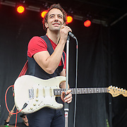 WASHINGTON, DC - September 26th, 2015 - Albert Hammond, Jr. performs at the 2015 Landmark Festival in Washington, D.C.  (Photo by Kyle Gustafson / For The Washington Post)