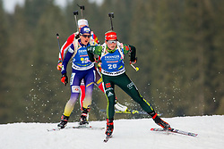 Franziska Hildebrand (GER) during Women 15km Individual at day 5 of IBU Biathlon World Cup 2018/19 Pokljuka, on December 6, 2018 in Rudno polje, Pokljuka, Pokljuka, Slovenia. Photo by Ziga Zupan / Sportida