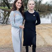 NLD/Amsterdam/20171218 - Musical Awards nominatielunch 2018, Esmée Dekker en Jelka van Houten