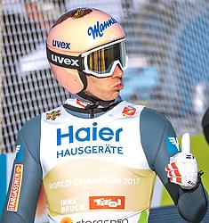 23.02.2019, Bergiselschanze, Innsbruck, AUT, FIS Weltmeisterschaften Ski Nordisch, Seefeld 2019, Skisprung, Herren, im Bild Stefan Kraft (AUT) // Stefan Kraft of Austria during the men's Skijumping HS130 competition of FIS Nordic Ski World Championships 2019 at the Bergiselschanze in Innsbruck, Austria on 2019/02/23. EXPA Pictures © 2019, PhotoCredit: EXPA/ Dominik Angerer
