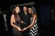 Tamara Mellon and June Sarpong, Emporio Armani Red One Night Only. Brompton Hall, Earls Court. London. 21 September 2006.  . ONE TIME USE ONLY - DO NOT ARCHIVE  © Copyright Photograph by Dafydd Jones 66 Stockwell Park Rd. London SW9 0DA Tel 020 7733 0108 www.dafjones.com