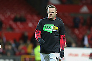 Wayne Rooney of Manchester United during the Barclays Premier League match between Manchester United and Stoke City at Old Trafford, Manchester, England on 2 February 2016. Photo by Phil Duncan.