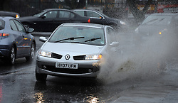 © Licensed to London News Pictures. 08/03/2013.Wet Weather today (08,03,2013) in Pettswood South East London and Kent Borders..Photo credit : Grant Falvey/LNP