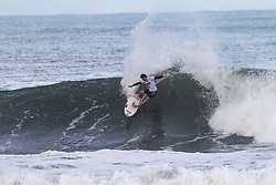 Mateus Herdy of Brazil advances in 1st to round 4 from round 3 heat 2 of the Hawaiian Pro at Haleiwa, Oahu, Hawaii, USA