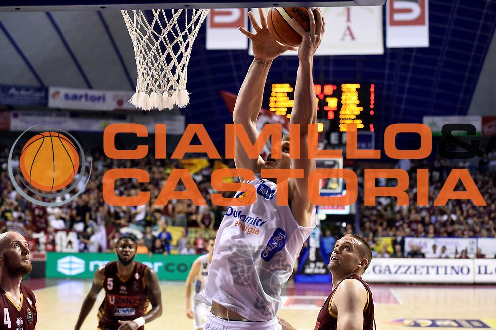 Luca Lechthaler<br /> Umana Reyer Venezia - Dolomiti Energia Aquila Basket Trento<br /> Lega Basket Serie A 2016/2017<br /> Playoff, finale gara 2<br /> Venezia, 12/06/2017<br /> Foto M.Ceretti / Ciamillo-Castoria