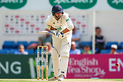 James Vince of Hampshire batting during the Specsavers County Champ Div 1 match between Surrey County Cricket Club and Hampshire County Cricket Club at the Kia Oval, Kennington, United Kingdom on 18 August 2019.