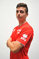 Larry AZOUNI - 16.09.2014 - Photo officielle Nimes - Ligue 2 2014/2015<br /> Photo : Icon Sport