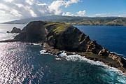 Mokuhooniki Island, Molokai, Hawaii