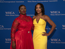 April 27, 2019 - Washington, District of Columbia, U.S. - Cloe Luv and Jordan Emanuel arrive for the 2019 White House Correspondents Association Annual Dinner at the Washington Hilton Hotel on Saturday, April 27, 2019  (Credit Image: © Ron Sachs/CNP via ZUMA Wire)