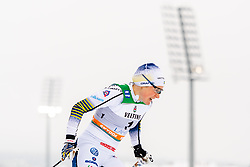 February 9, 2019 - Lahtis, FINLAND - 190209  Hanna Falk of Sweden competes in the women's sprint qualification during the FIS Cross-Country World Cup on February 9, 2019 in Lahti..Photo: Johanna Lundberg / BILDBYRN / 135946 (Credit Image: © Johanna Lundberg/Bildbyran via ZUMA Press)