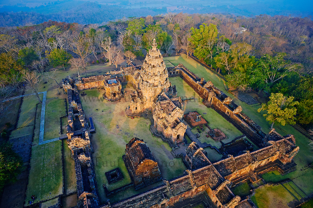 Thailande, province de Buriram, temple de Phanom Rung // Thailand, Buriram province, Phanom Rung temple