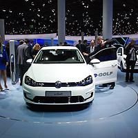 VW e-Golf at the IAA 2013, Frankfurt, Germany