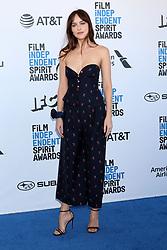 February 23, 2019 - Santa Monica, CA, USA - LOS ANGELES - FEB 23:  Dakota Johnson at the 2019 Film Independent Spirit Awards on the Beach on February 23, 2019 in Santa Monica, CA (Credit Image: © Kay Blake/ZUMA Wire)