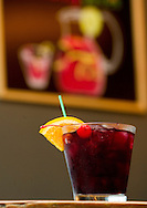 Beat the heat this summer and enjoy the sweet taste of Sangria, the drink seen here Thursday, June 19, 2014. The wine beverage from Spain and Portugal contains wine, fruit, fruit juice and a small amount of liquor, such as brandy or triple sec.<br /> Nick Wagner / The Forum