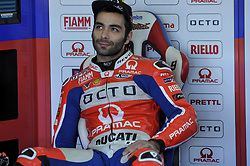 November 14, 2017 - Cheste, Spain - Danilo Petrucci (Octo Pramac Racing) during Motogp test day at Valencia circuit  (Credit Image: © Gaetano Piazzolla/Pacific Press via ZUMA Wire)