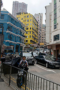 Wan Chai Road, Hong Kong Island, China.