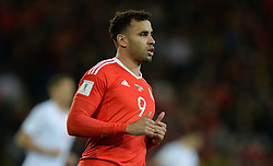 Hal Robson-Kanu of Wales - Mandatory by-line: Alex James/JMP - 12/11/2016 - FOOTBALL - Cardiff City Stadium - Cardiff, United Kingdom - Wales v Serbia - FIFA European World Cup Qualifiers