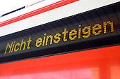 GDL Bahnstreik