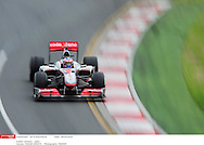 Grand Prix d'Australie de formule 1..Melbourne 28 mars 2010.. course. ..Photo: Stéphane Mantey/ L'Equipe *** Local Caption *** button (jenson) - (gbr) -