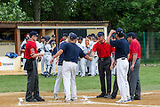 Challenge de France 2014. Coupe entre les équipes Elites D1 du championnat de France de Baseball.