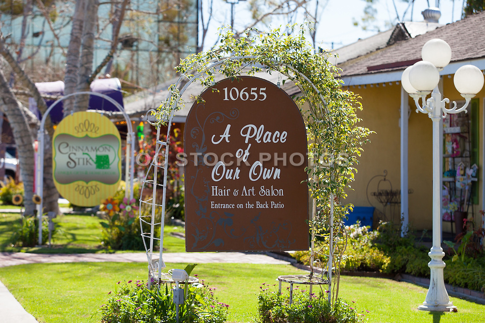 A Place of Our Own Hair and Art Salon at the Arbor in Los Alamitos California