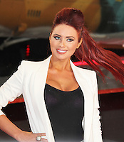 Amy Childs, A Good Day To Die Hard - UK Film Premiere, Empire Cinema Leicester Square, London UK, 07 February 2013, (Photo by Richard Goldschmidt)
