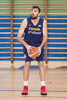Pierre Oriola during the Spain training session before EuroBasket 2017 in Madrid. August 02, 2017. (ALTERPHOTOS/Borja B.Hojas)