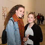 23.03.16<br /> LSAD are delighted to host SYMBOLS: Culture of Death and Cultural Life, a Creative Europe Project under the European Commission. <br /> <br /> Attending the exhibition were, Alison Morehead and Rachel Moloney.<br /> <br /> LSAD are one of the seven partners in this Creative Europe project which is running from 2014-2016. This exhibition will feature work from international printmakers, dancers and musicians from 7 European countries. This show embraces not only the work created by these artists during two residencies responding to the theme of symbols, one in Aviles, Spain and one in Dundee Scotland and includes work by Limerick artists, musicians and dancers, Gemma Dardis, Mary O'Dea, Jennifer Brown and Hannah Fahey, but also offers a response by the students of the printmaking department in LSAD to the historic Limerick cemeteries of Mount St. Lawrence and St. John's. The students created an exciting and thought provoking body of work which is showing along side these international artists. Picture: Alan Place/Fusionshooters
