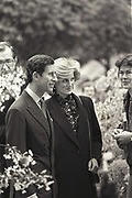 Prince Charles and the Princess of Wales, chelsea Flower show preview evening. May, 1984,