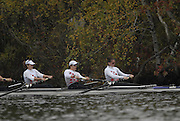 Boston, Massachusetts,  Championships women's fours, London Training Center,  competing in the  Forty Second, [42nd] Head of the Charles, 22/10/2006.  Photo  Peter Spurrier/Intersport Images...[Mandatory Credit, Peter Spurier/ Intersport Images] Rowing Course; Charles River. Boston. USA