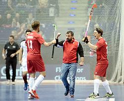 BERLIN - Indoor Hockey World Cup<br /> Quarterfinal 2: Austria - Poland<br /> foto: SNIEZEK Karol<br /> WORLDSPORTPICS COPYRIGHT FRANK UIJLENBROEK