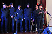 Men of the West onstage at the Guildford Town Hall, part of the 2019 Guildford Songfest