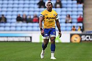 Bath wing Semasa Rokoduguni (14) during the Gallagher Premiership Rugby match between Wasps and Bath Rugby at the Ricoh Arena, Coventry, England on 2 November 2019.